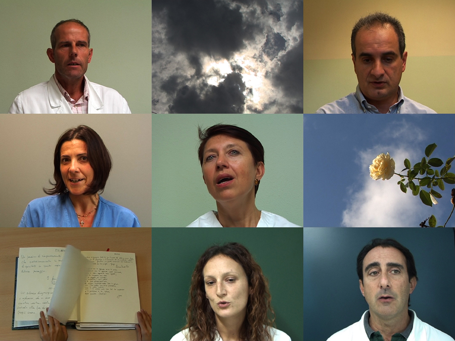 UN SALUTO ALLE NUVOLE-Video-Collage
